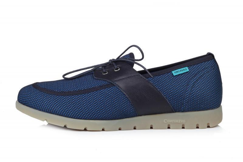 Мужские кроссовки King Paolo M16 размер 43 Синие с черным (Ua_Drop_117147-43)