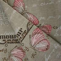 Декор бабочки розовый