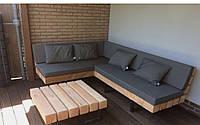 Садовая лаунж лавочка в стиле LOFT (NS-970001431)
