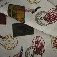 Декор марки беж-оливка