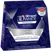 Crest 3D White Luxe Whitestrips Supreme FlexFit отбеливающие полоски для зубов из США, фото 1