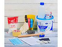 Жидкий наливной акрил Plastall ТМ Просто и Легко в наборе для реставрации ванн 1.7 м