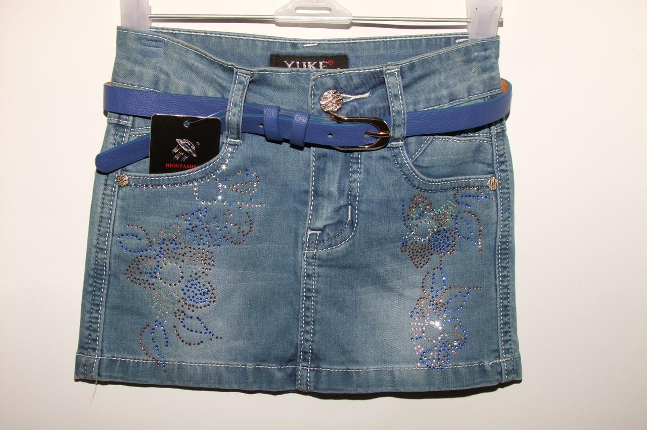 Юбка джинсовая на девочку(19-22)