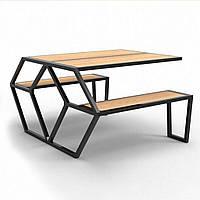Садовый стол в стиле LOFT (NS-963247245)