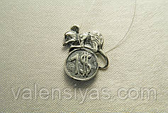 Кошельковая мышка -  серебряный сувенир, фото 3