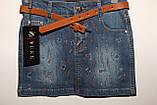 Юбка джинсовая на девочку, фото 2