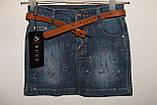 Юбка джинсовая на девочку, фото 3