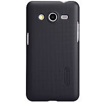 Чехол Nillkin для Samsung G355 Galaxy Core 2 чёрный (+пленка)