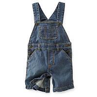 Полукомбинезон/шорты джинсовый Carters (12М)