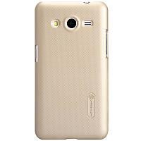 Чехол Nillkin для Samsung G355H Galaxy Core 2 золотистый (+пленка)