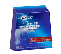 Crest White Strips Advanced Vivid отбеливающие полоски для зубов из США