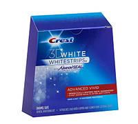 Crest White Strips Advanced Vivid відбілюючі смужки для зубів з США