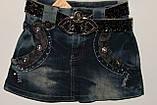 Юбка джинсовая на девочку(5-8), фото 3