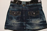 Юбка джинсовая на девочку(5-8), фото 4
