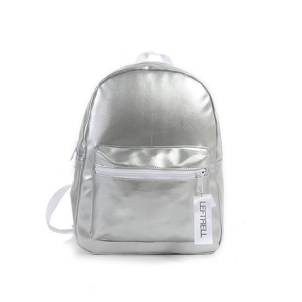 Женский рюкзак Kronos Top Серебристый (stet_EV516)