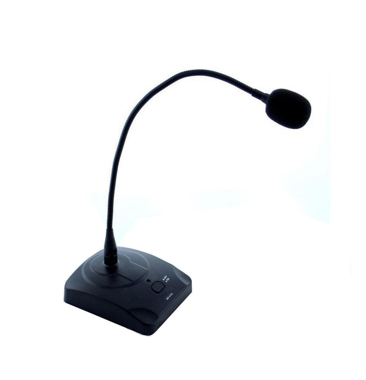 Радиомикрофон для конференций Shure MX-418 PRO Черный (008433)
