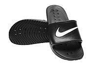Шлепанцы Nike Kawa Shower 832528-001 42.5 (9 US) 27 см Черные (886915409950)