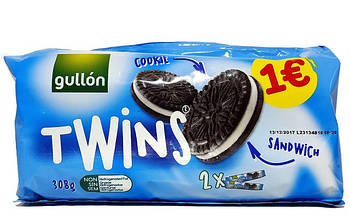 Печенье Gullon Twins, 308 г (Испания)