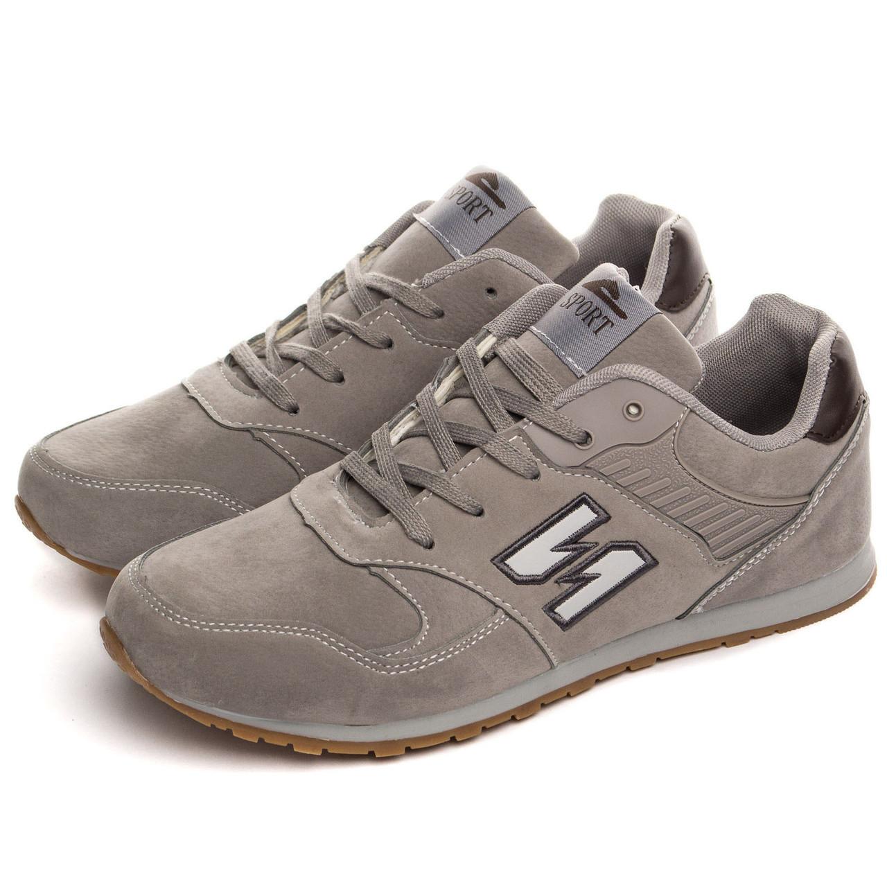 Чоловічі кросівки Sport 43 Grey (819A-2-43)