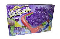 Кинетический песок Dankotoys KidSand + песочница укр (TOY-50554)