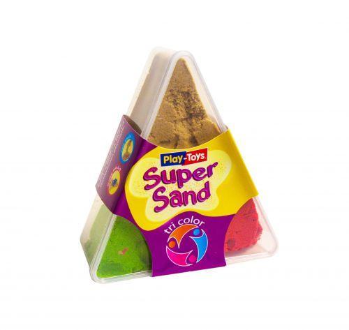 Кинетический песок Play-Toys Tri Color 3 x 100 г (TOY-53994)