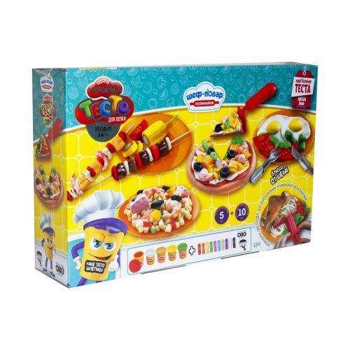 Тесто для лепки Dankotoys Master-Do Шеф-Повар Кулинария MEGA BOX (TOY-59794)