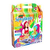 Большой набор для лепки Strateg Мистер Тесто: Спагетти (TOY-57505)