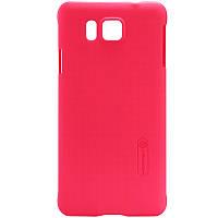 Чехол Nillkin для Samsung Galaxy Alpha G850F красный (+пленка)