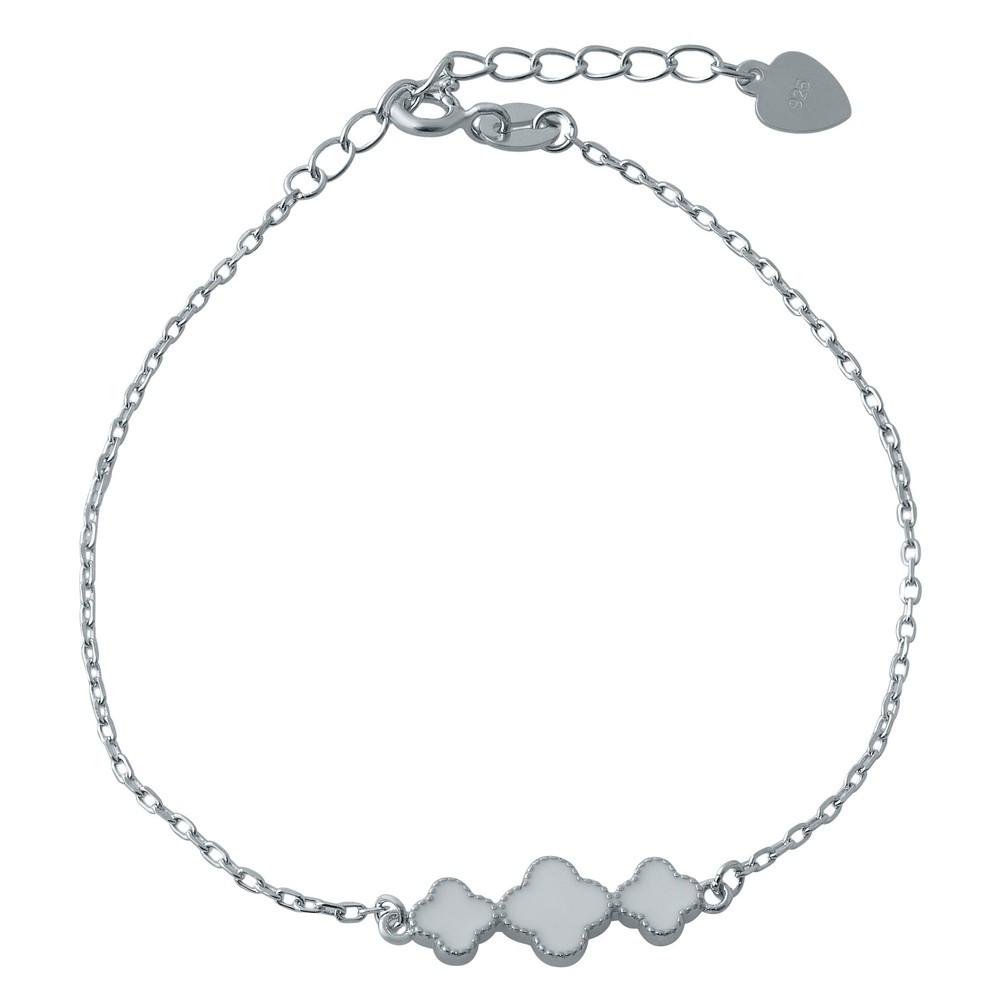 Серебряный браслет SilverBreeze с эмалью 17-20 см (1994078)