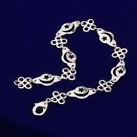 Браслет с покрытием серебром 925 (арт-70393), фото 1
