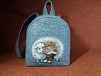 Женский рюкзак Alpaca Friend-sheep Серый (ALP0190, фото 1