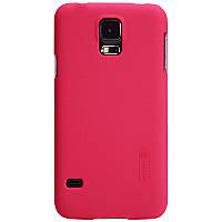 Чехол Nillkin для Samsung Galaxy S5 красный (+пленка)