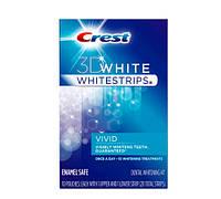 Crest 3D White Whitestrips Vivid відбілюючі смужки для зубів з США