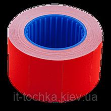 Ценник 26*16мм (375шт, 6м), прямоугольный, внешняя намотка, красный bm.282103-05