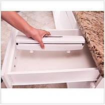 Диспенсер для пищевой пленки, фольги и бумаги Wraptastic, фото 2