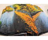 Жіночий парасольку автомат Calm Rain осінь а490/2, фото 6