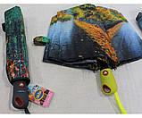 Жіночий парасольку автомат Calm Rain осінь а490/2, фото 7