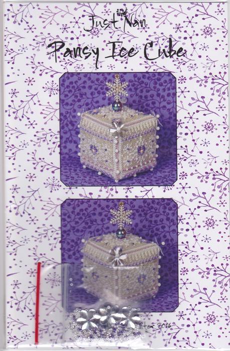 Схема для вышивки Pansy Ice Cube Just Nan JN285