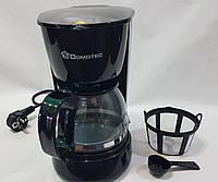Кофеварка, электрическая Domotec  MS-0707, с чашей и мерной ложкой