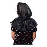 Платок Траурный Чёрный, фото 4