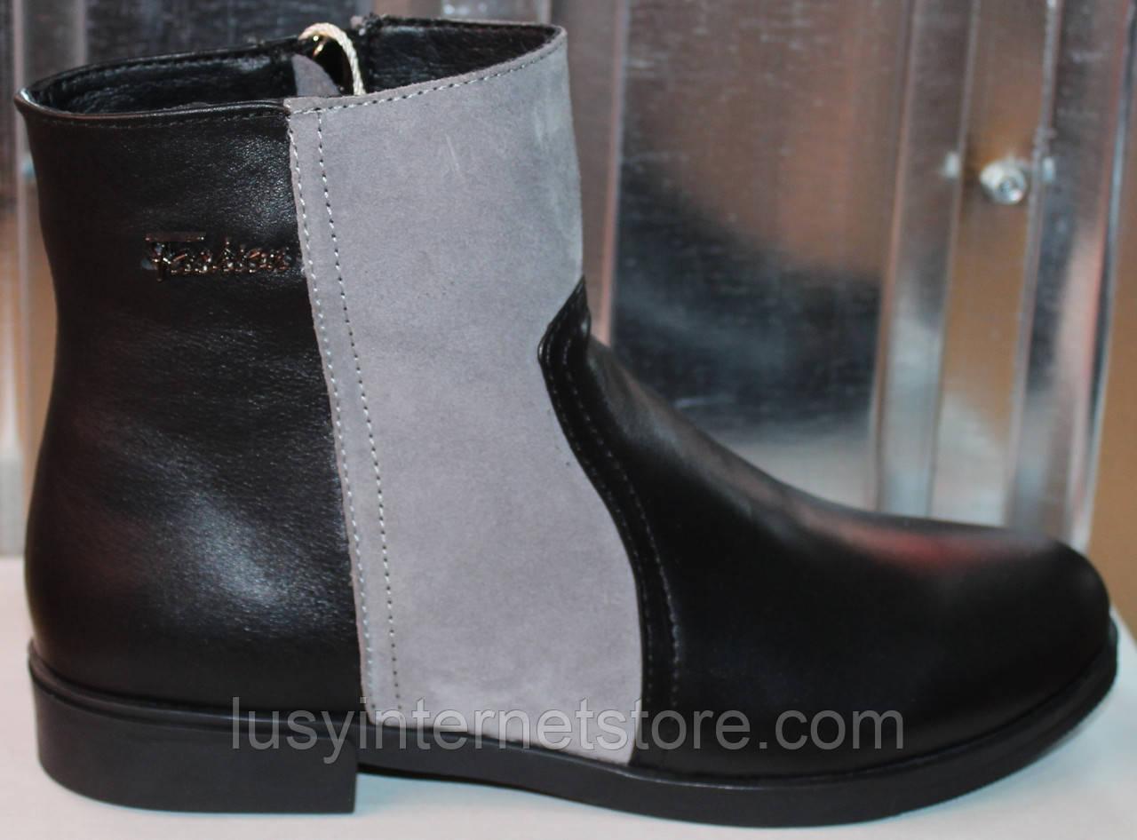 Ботинки кожаные женские демисезонные от производителя модель СА211