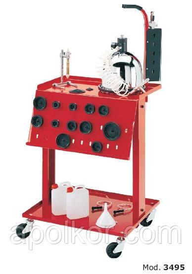 Пневматическая установка для замены тормозной жидкости  Flexbimec 3495