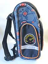 Школьный каркасный рюкзак для мальчиков Танки черный, фото 2