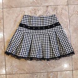 Детская юбочка в складку для девочки 3 лет