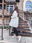 Женский вязаный кардиган свободного кроя (в расцветках), фото 2