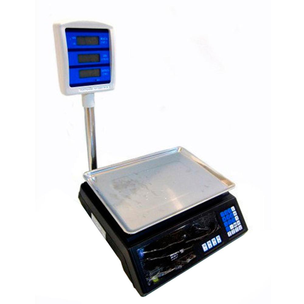 Торговые весы со стойкой ACS 50kg/5g 308 Domotec D1021
