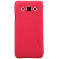 Чехол Nillkin для Samsung Galaxy E5 E500H/DS красный (+пленка)