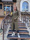 Женский вязаный длинный кардиган с поясом (в расцветках), фото 8