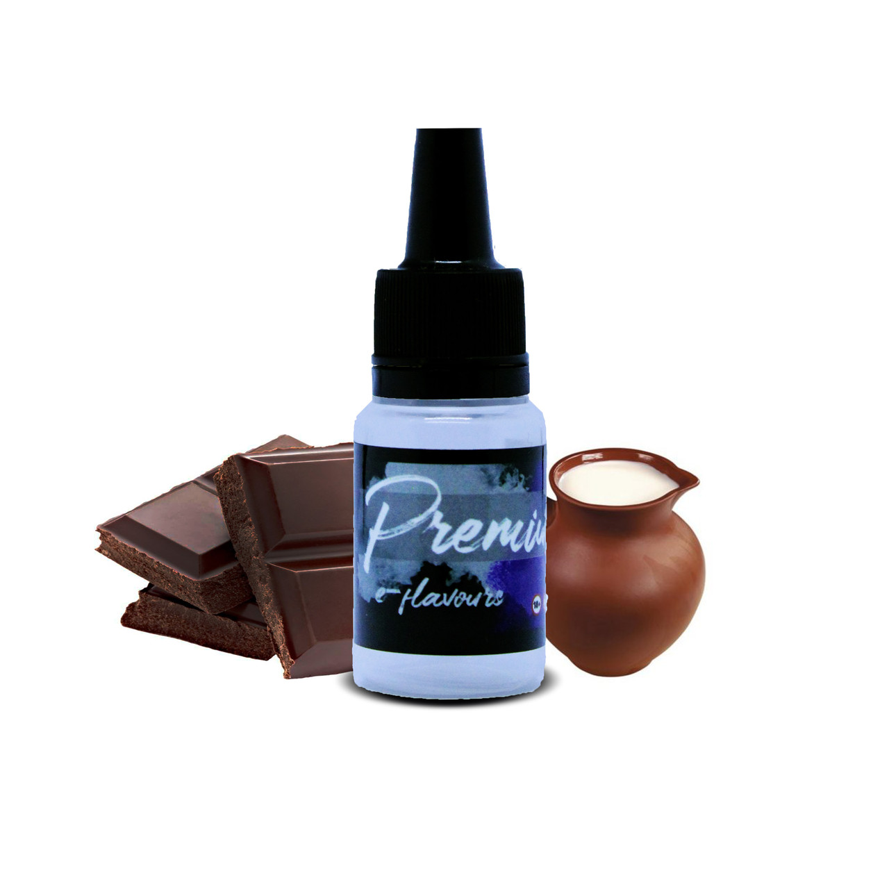 Микс ароматизаторов Черный шоколад с топленым молоком 10 мл