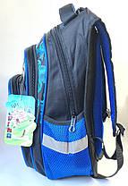 Школьный рюкзак для мальчиков черный трансформеры объёмный, фото 3